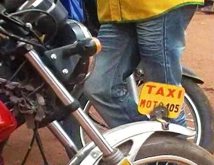 Reportage : Fada N'Gourma adopte le «taxi-moto»
