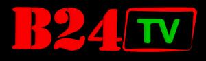 Logo B24 TV sans globe