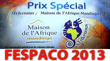 FESPACO 2013 : le prix Afrikenous pour rejeter l'afro-pessimisme