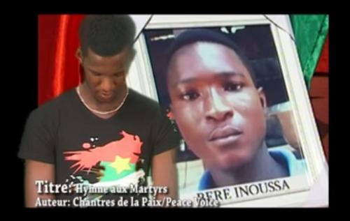 Burkina : L'hymne aux martyrs