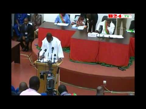 Isaac Zida : «La situation de la nation est loin d'être reluisante»
