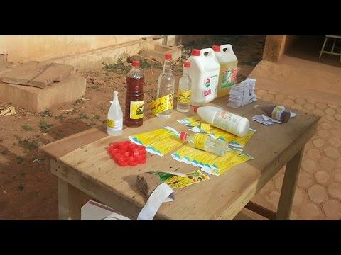 Du vinaigre douteux découvert à Ouaga