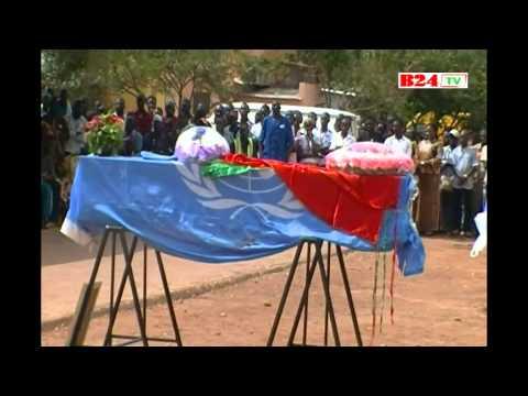 Accueil des six soldats burkinabè morts au Mali